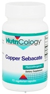 Nutricology - Copper Sebacate 4 mg. - 75 Capsules by Nutricology