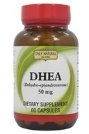 Only Natural - DHEA 99% Pure 50 mg. - 60 Capsules by Only Natural