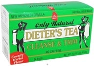 Image of Only Natural - Dieter's Tea Cleanse & Trim Country Herbal Flavor - 24 Tea Bags CLEARANCED PRICED