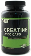 Optimum Nutrition - Creatine 2500 Caps 2500 mg. - 100 Capsules by Optimum Nutrition