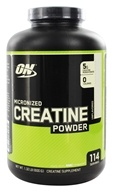 Optimum Nutrition - Micronized Creatine Powder Creapure Unflavored - 600 Grams