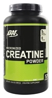 Optimum Nutrition - Micronized Creatine Powder Creapure Unflavored - 300 Grams