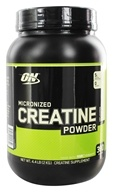 Optimum Nutrition - Micronized Creatine Powder Creapure Unflavored - 2000 Grams, from category: Sports Nutrition