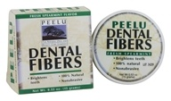 Peelu - Dental Fibers Tooth Powder Spearmint Flavor - 0.53 oz. by Peelu