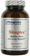 Metagenics - Sinuplex Ephedra-Free Sinus and Lung Support - 120 Tablets (755571910578)
