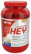MET-Rx - Ultramyosyn Whey Vanilla - 2 lbs., from category: Sports Nutrition