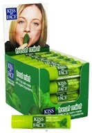 Kiss My Face - Organic Lip Balm Treat Mint 15 SPF - 0.15 oz.