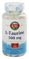 Kal - L-Taurine 500 mg. - 60 Tablets