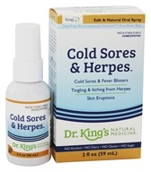 King Bio - Homeopathic Natural Medicine Cold Sores & Herpes - 2 oz. (357955516521)