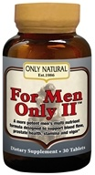 Only Natural - For Men Only II Ultra Potent Male Formula - 30 Tablets (727413002208)