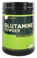 Optimum Nutrition - Glutamine Powder Unflavored - 1000 Grams