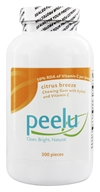 Peelu - Chewing Gum with Xylitol and Vitamin C Citrus Breeze - 300 Piece(s) - $21.10