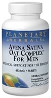 Planetary Herbals - Avena Sativa Oat Complex for Men with Oat Straw Extract 480 mg. - 100 Tablets Formerly Planetary Formulas - $13.79