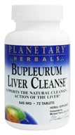 Planetary Herbals - Bupleurum Liver Cleanse 530 mg. - 72 Tablets Formerly Planetary Formulas, from category: Herbs