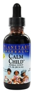 Planetary Herbals - Calm Child Herbal Syrup - 2 oz. Formerly Planetary Formulas (021078100768)