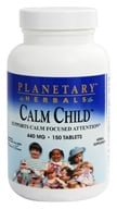 Planetary Herbals - Calm Child 432 mg. - 150 Tablets Formerly Planetary Formulas, from category: Herbs