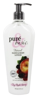 Image of Pure & Basic - Natural Hand & Body Lotion Fuji Apple Berry - 12 oz.