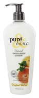 Image of Pure & Basic - Natural Hand & Body Lotion Grapefruit Verbena - 12 oz.