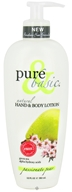 Pure & Basic - Natural Hand & Body Lotion Passionate Pear - 12 oz. (074092088352)