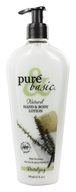 Pure & Basic - Natural Hand & Body Lotion Revitalizing - 12 oz. (074092088321)