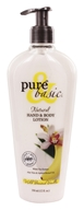Image of Pure & Basic - Natural Hand & Body Lotion Wild Banana Vanilla - 12 oz.