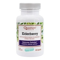 Quantum Health - Elderberry Immune Defense Extract - 60 Capsules, from category: Herbs