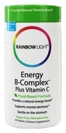 Rainbow Light - Energy B-Complex - 90 Tablets, from category: Nutritional Supplements