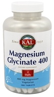 Image of Kal - Magnesium Glycinate 400 - 180 Tablets