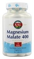 Kal - Magnesium Malate 400 - 90 Tablets by Kal