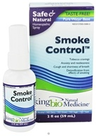 King Bio - Homeopathic Natural Medicine Smoke Control - 2 oz. CLEARANCED PRICED