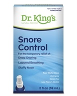 King Bio - Homeopathic Natural Medicine Snore Control - 2 oz. by King Bio