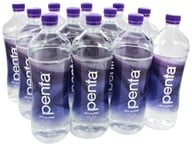 Penta - Ultra-Purified Antioxidant Water - 12 One Liter Bottles - 1 Case