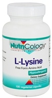 Nutricology - L-Lysine 500 mg. - 100 Vegetarian Capsules by Nutricology