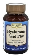 Only Natural - Hyaluronic Acid Plus 814 mg. - 60 Tablets, from category: Nutritional Supplements