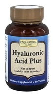 Only Natural - Hyaluronic Acid Plus 814 mg. - 60 Tablets - $21.27