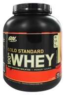 Optimum Nutrition - 100% Whey Gold Standard Protein French Vanilla Creme - 5 lbs., from category: Sports Nutrition