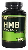 Optimum Nutrition - HMB 1000 Caps 1000 mg. - 90 Capsules (748927023138)