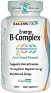 Rainbow Light - Energy B-Complex - 45 Tablets - $10.96