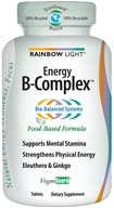 Rainbow Light - Energy B-Complex - 45 Tablets, from category: Nutritional Supplements