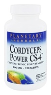 Planetary Herbals - Cordyceps Power CS-4 800 mg. - 120 Tablets Formerly Planetary Formulas
