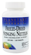 Planetary Herbals - Freeze-Dried Stinging Nettles 420 mg. - 120 Tablets Formerly Planetary Formulas, from category: Herbs