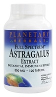 Image of Planetary Herbals - Astragalus Extract Full Spectrum 500 mg. - 120 Tablets Formerly Planetary Formulas