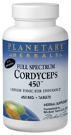 Planetary Herbals - Cordyceps 450 Full Spectrum 450 mg. - 60 Tablets Formerly Planetary Formulas (021078104322)