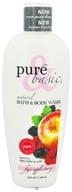 Pure & Basic - Natural Bath & Body Wash Fuji Apple Berry - 12 oz.