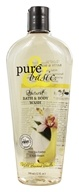 Image of Pure & Basic - Natural Bath & Body Wash Wild Banana Vanilla - 12 oz.