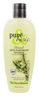 Image of Pure & Basic - Natural Shampoo Anti-Dandruff Tea Tree and Rosemary - 12 oz.