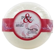 Image of Pure & Basic - Natural Bar Soap Fresh Fig - 6.4 oz.
