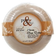 Pure & Basic - Natural Bar Soap Honey Shea Butter - 6.4 oz.
