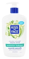 Image of Kiss My Face - Ultra Moisturizer Vitamin A & E - 16 oz.