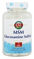Kal - MSM With Glucosamine Sulfate - 90 Tablets by Kal